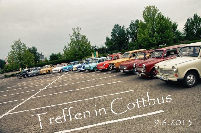 Treffen in Cottbus